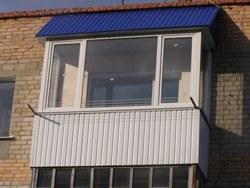объединение кухни и балкона в Киселевске
